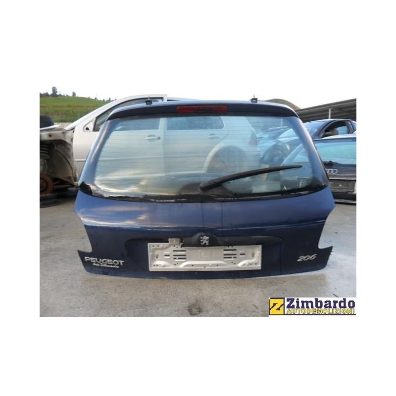 Portellone posteriore Peugeot 206