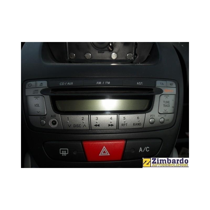 Radio CD Peugeot 107