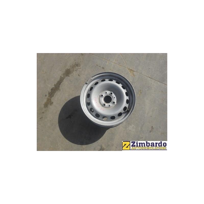 Cerchio in ferro Fiat Panda