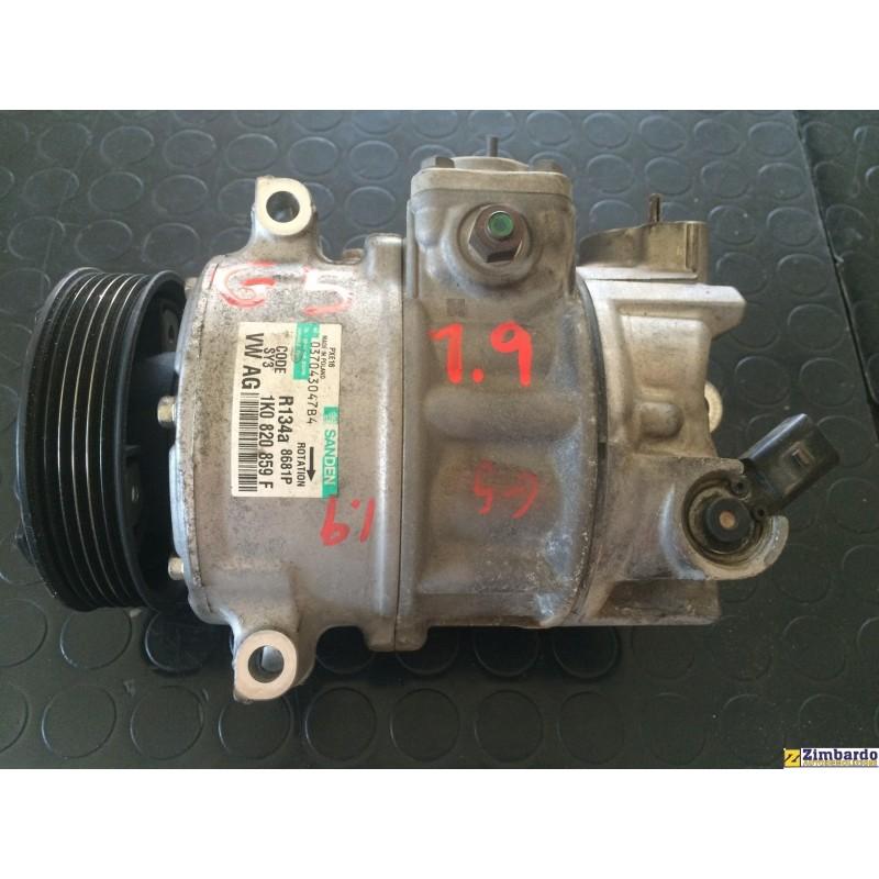 Compressore aria condizionata VW Golf 5