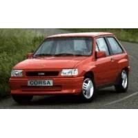 Ricambi auto Opel Corsa A Gsi 1.6 100 cv (1987-1993)